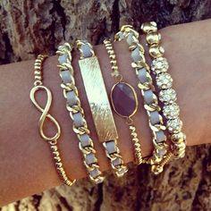 Infinity bracelet. Love.