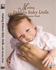 New DVD - Making reborn baby dolls