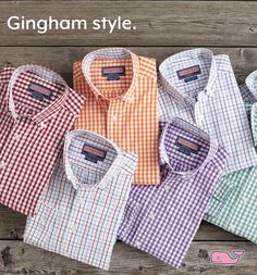 Gingham Style.