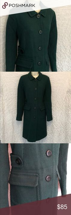 NEW Victoria's Secret Moda Long Wool Coat 8 Tall New without tags! This coat has a couple of extremely minor snags (see pic) from being stored, but it was bought new at a VS outlet and never worn. Size is 8 Tall but should be a good length for a regular size 8 also. Check out my other VS listings for a combined bundle deal  Victoria's Secret Jackets & Coats Pea Coats