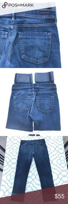 """💙👖AWESOME CoH CROP👖💙27 3/4 24.5"""" CUFF DISTRESS 💙👖DESIGNER JEANS!👖💙👖PREMIUM DENIM!👖💙 Thanks for stopping by!!! Please Study Photos Very Carefully!!! ZOOM IN on Hems Pockets & Seat!!! SEE Detail Color & Condition!! SEE NOTECARD for INFORMATION!!! Notecard answers many of your questions!!! MEASUREMENTS ON NOTECARD!!!#Hashtags: Anthro Anthropologie Buckle Dojo 7 All Mankind Citizens Humanity Miss Me True Religion Rock Revival AG Hudson BKE J Brand Paige Madewell Crew Dark Wash Skinny…"""