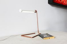 castor design: coil lamp powered by apple adapter