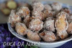 Dika da Naka Blog de Culinária, Receitas, Gastronomia e Dicas de Alimentação: Bolinho de chuva de Leite Ninho