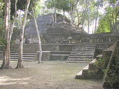 Cahal Pech Mayan Ruins in Belize.