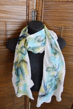 These scarves are hand made with none of them ever being the same. Each unique scarf adds just the right touch to your wardrobe and youll stand out