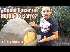 """¿Cómo construir un Horno de Barro con materiales reciclados? """"El Rincón del Soguero"""" - YouTube"""