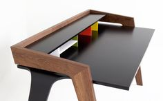 goodwoodwould:Good wood - 'ID' desk by Blue Ant Studios
