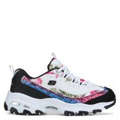 cb147a64f98647 Skechers D Lites Sneaker White Silver Skechers D Lites
