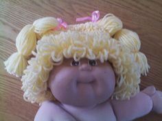 Toddler Size Cabbage Patch Hat