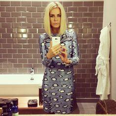 Caroline Stanbury.. Matthew Williamson dress..