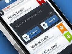iOS App UI designed by Gert Tzafa. User Interface Design, Interface App, Mobile Ui Patterns, Tablet Ui, Web Design, App Ui, Ui Ux, Iphone App Design, App Design Inspiration