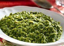 Garlic and Spinach Rice