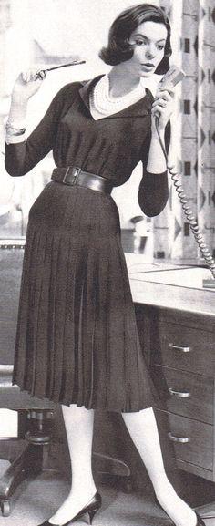 50's career girl glam