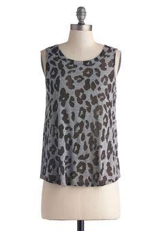 Wear a Jungle Out There Top | Mod Retro Vintage Short Sleeve Shirts | ModCloth.com
