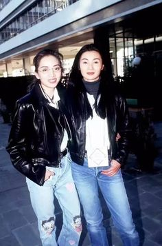 22 Retro Photos Show Unique Women's Fashion Styles in Hong Kong During the 1990s ~ Vintage Everyday