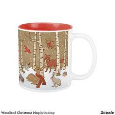 Woodland Christmas Mug