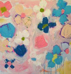 Kerri Rosenthal, Art for a Girl's Room on smARTing off blog.