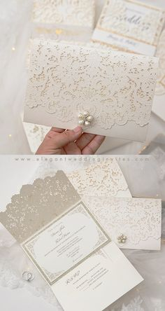 Ivory Wedding Invitations, Indian Wedding Invitation Cards, Elegant Wedding Invitations, Wedding Themes, Wedding Cards, Wedding Ideas, Fall Wedding, Make Your Own Wedding Invitations, Wedding Venues