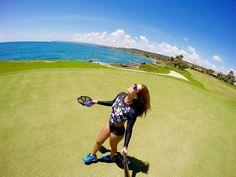 Beautiful  Day in Cap Cana. #Travel #GoPro #goprogirl #GoproHero4Black #goprophotography  #ocean #sun #sunny #beautiful #season #nature #bluesky #weather #dreams #MiamiLiving #LivingAndLovingLife #Blessed #girl by elebreakstone
