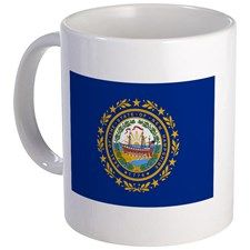 """New Hampshire State Flag"" Mug"