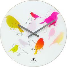 Infinity Instruments Bird Lovers Wall Clock 14091
