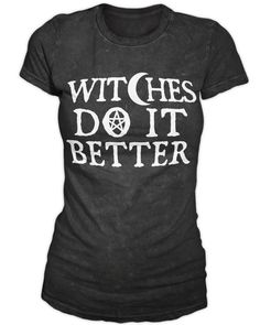 Witches Do It Better - Women's Tee | Black Craft