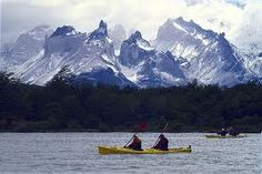 Kayaking in Patagonia Chile
