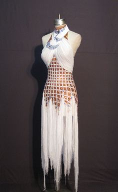 Designs to Shine by Maria McGill - L12201 Queen of the Nile #swarovski #gaynor latin dance costume