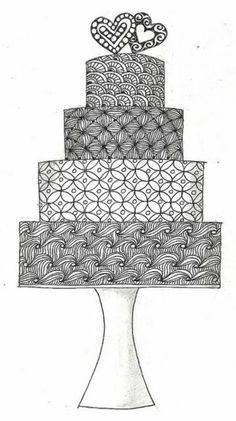 mandalas ständer für erwachsene torte