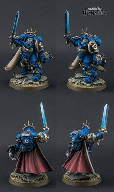 Primaris Captain in Gravis armor