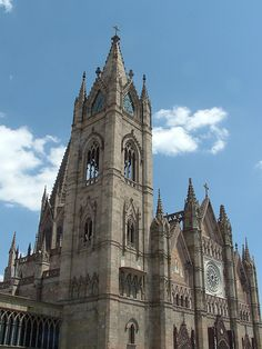 Templo Expiatorio dedicated to the Holy Sacrament.  Designed by Italian architect Adamo Boari. Construction began in 1897 and it was completed in its entirety in 1972.  Guadalajara, Jalisco, MEXICO.