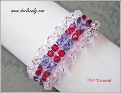 Pink Ruby Purple Bracelet