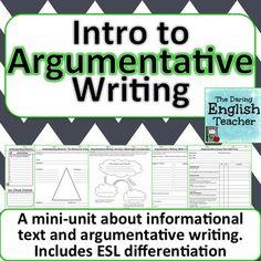argumentive essay write