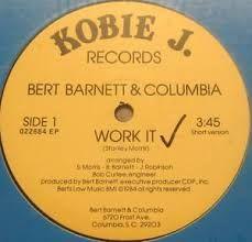 Funk-Disco-Soul-Groove-Rap: Bert Barnett & Columbia - Work It.