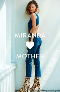 Miranda Kerr, Teenage Rebellion, Mother Denim, Revolve Clothing, Denim Jeans, Harem Pants, Capri Pants, Collection, Store