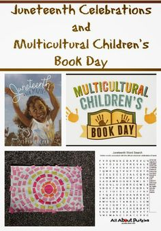 Multicultural Children's Book Day review-Juneteenth Activities for Kids