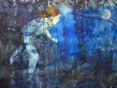 """Remontando às manifestações oníricas e às fábulas, a exposição """"A noite e outros silêncios"""", de Danielle Carcav, chega àLuciana Caravello Arte Contemporâneae fica até 18 de maio, com entrada catraca livre. Para a individual, a artista carioca produziu dez obras, entre pintura a óleo sobre tela, e aquarela sobre papel. Nos trabalhos, figuras humanas e...<br /><a class=""""more-link""""…"""