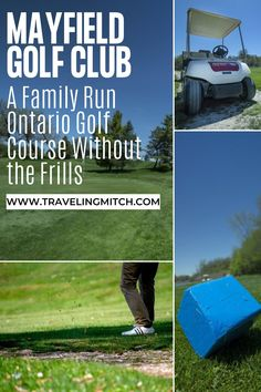 As someone who writes about Ontario frequently, golfing in Ontario is something we enjoy. The Mayfield Golf Club in Ontario truly places their golfers and community first. #ontario #golf #golftrip Travel Advice, Travel Guides, Ontario Travel, Rich Family, Golfers, Canada Travel, Amazing Destinations, Where To Go, Family History