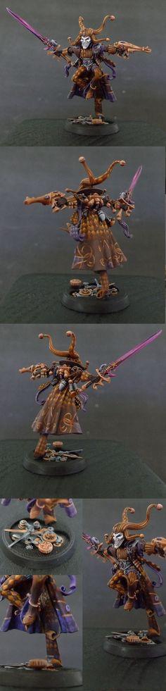 Eldar Harlequin Troupe Master (converted)
