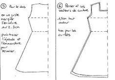 """Résultat de recherche d'images pour """"patron robe col claudine gratuit"""""""