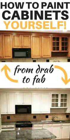 How to paint kitchen cabinets yourself kitchen cabinets diy kitchendecor homedecor 403353710371197744 Diy Kitchen Cabinets, Kitchen Paint, Kitchen Redo, New Kitchen, Ikea Cabinets, Kitchen White, Kitchen Ideas, How To Paint Kitchen Cabinets White, Kitchen Remodeling