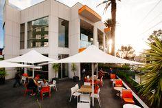 Melbourne restaurant   Melbourne hotel   Beer garden   outside dining   Bar