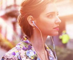 Chiara Ferragni sports Philips Fidelio headphones as part of her fashion must-haves.