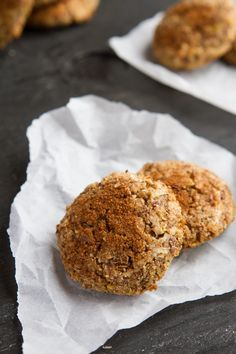 Quinoa Apple Pie Breakfast Cookies - (Gluten, egg, dairy free)