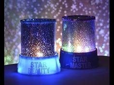 Ночник проектор звездного неба Star Master. Лучший ночник проектор