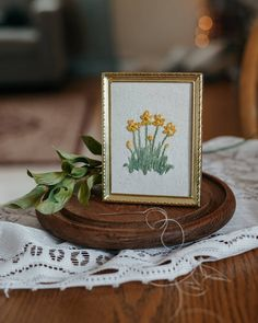 Metal Frames, Daffodils, Stitching, Give It To Me, Table Decorations, Beautiful, Collection, Instagram, Home Decor