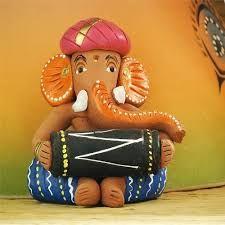 Image result for ganesha idols terracotta
