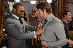 Matt Kemp and Clayton Kershaw. Got to get a little style help from Captain Swag.