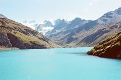 Lac de Moiry, Switzerland