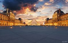 The Louvre | Paris by Sebdows Photography on 500px